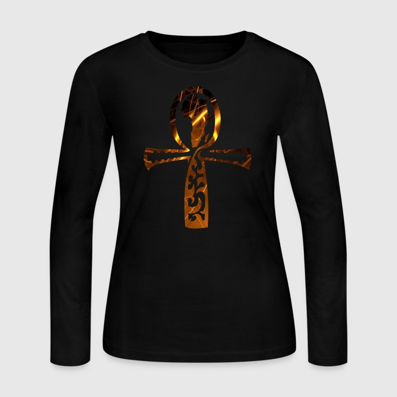 The Key of Life (ladies tee) - Women's Long Sleeve Jersey T-Shirt