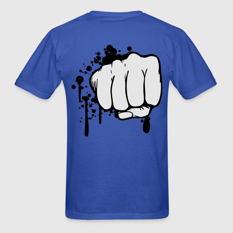 Blood fist bump T-Shirts - Men's T-Shirt