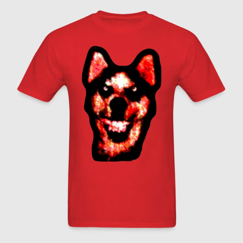 Smile Dog - Men's T-Shirt