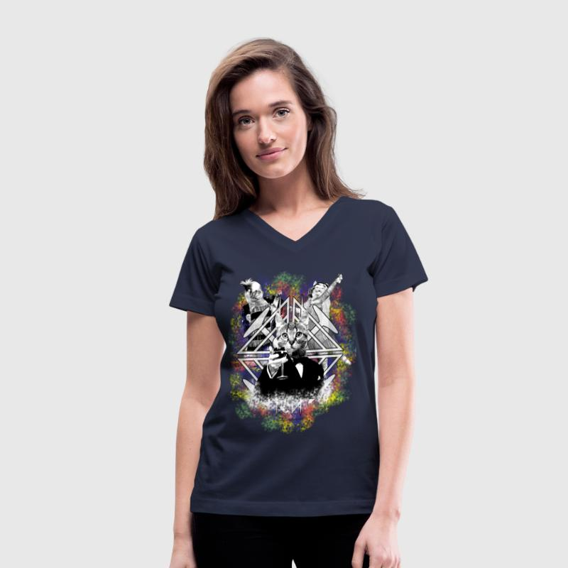 The Great Catsby - Women's V-Neck T-Shirt