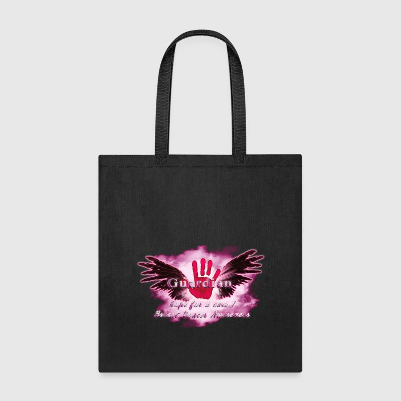 Guardian Angel hope for a cure Breast Cancer Aware Bags & backpacks - Tote Bag