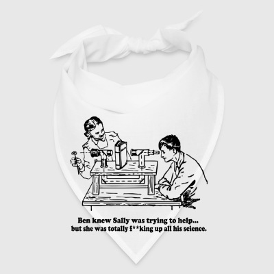 Sally Can't Science Bottles & Mugs - Bandana
