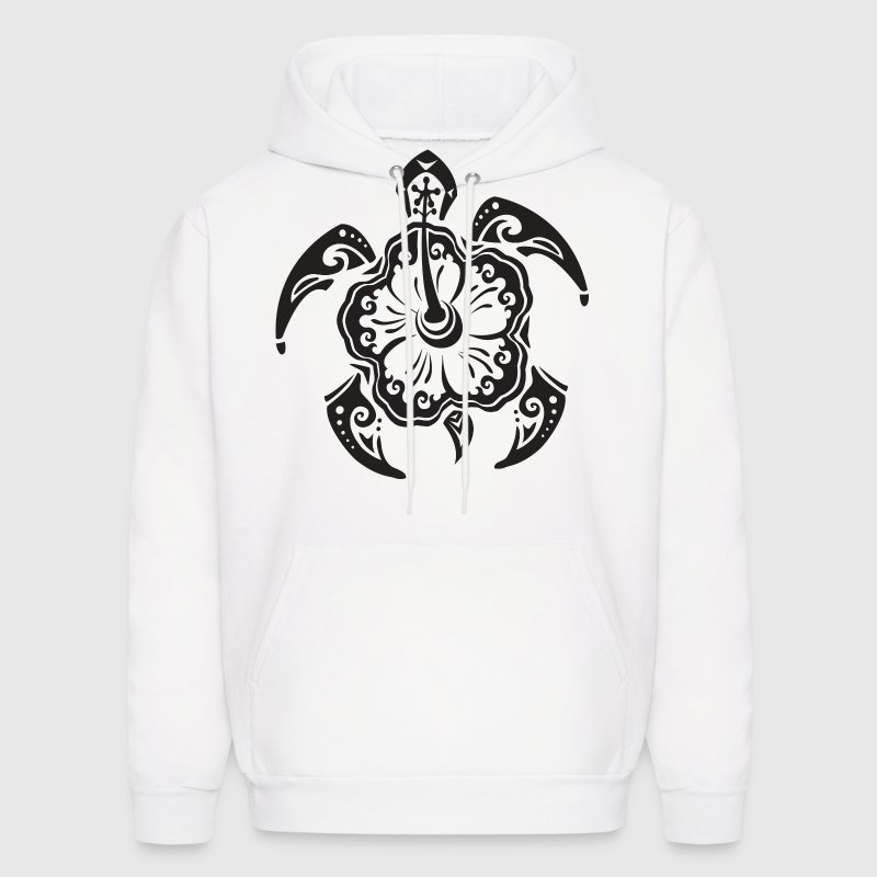 Tribal Sea Turtle Hoodies - Men's Hoodie