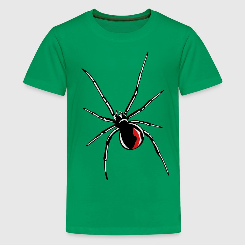 Black widow spider Kids' Shirts - Kids' Premium T-Shirt