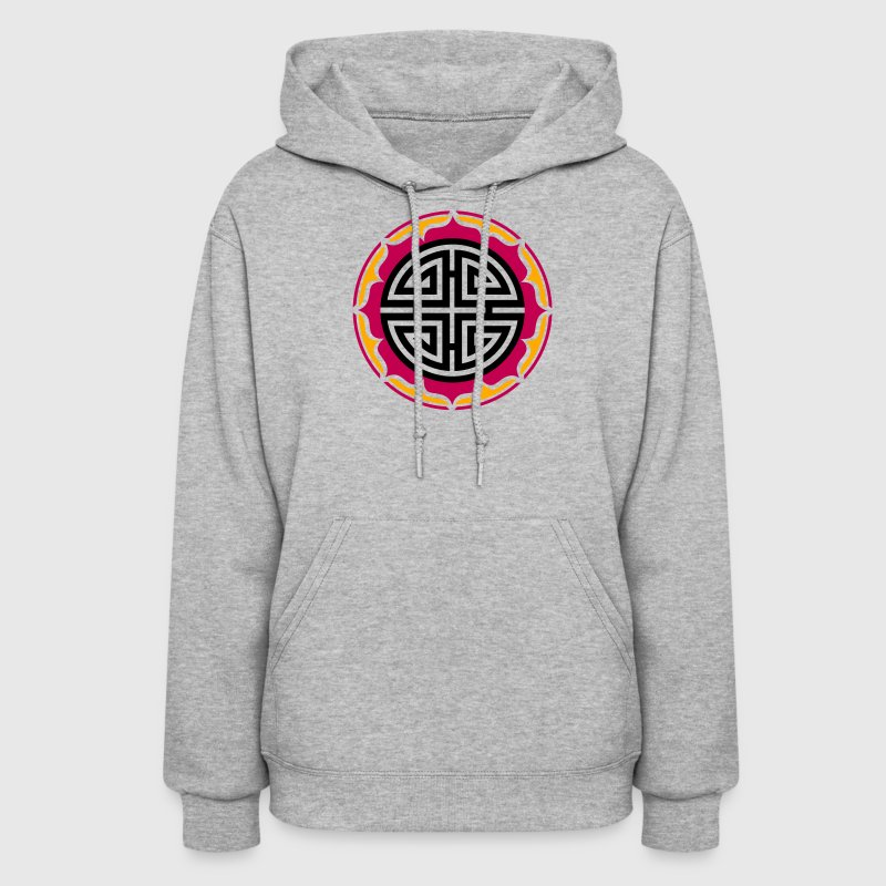 Four blessings, Chinese Good Luck Symbol, Charms Hoodies - Women's Hoodie