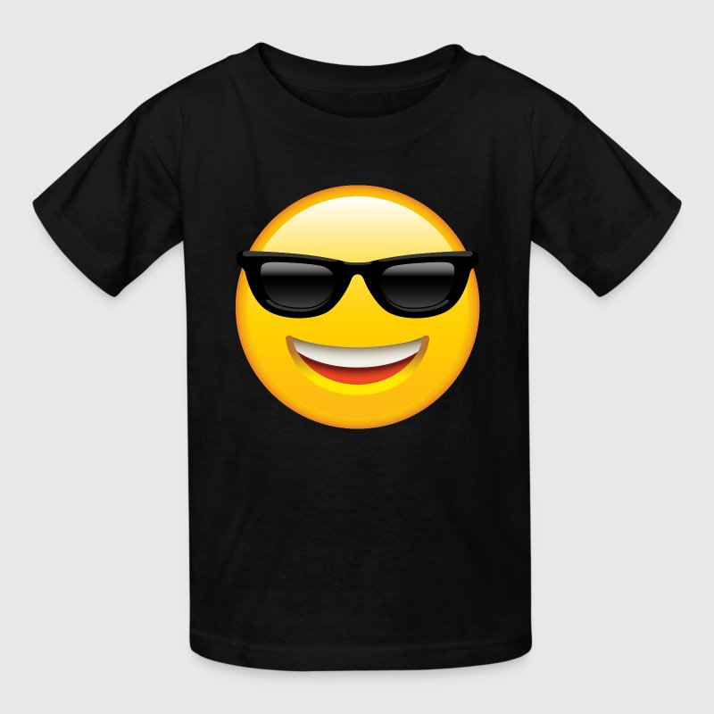 SMILEY FACE EMOTICON Kids' Shirts - Kids' T-Shirt