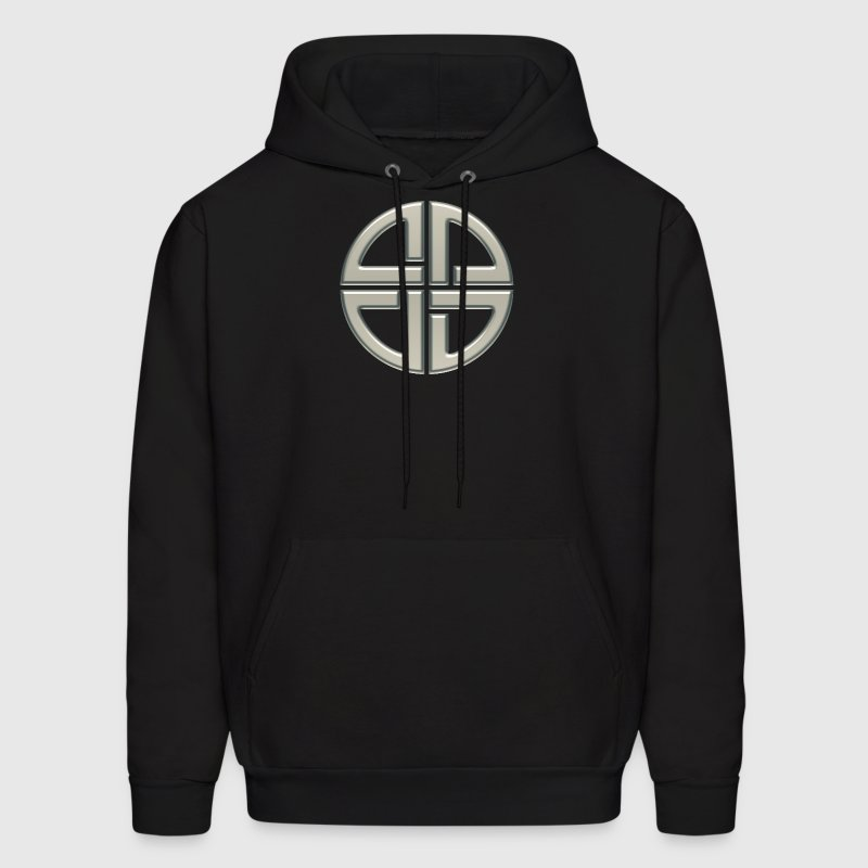 Celtic shield knot, Protection Amulet, Germanic,  Hoodies - Men's Hoodie
