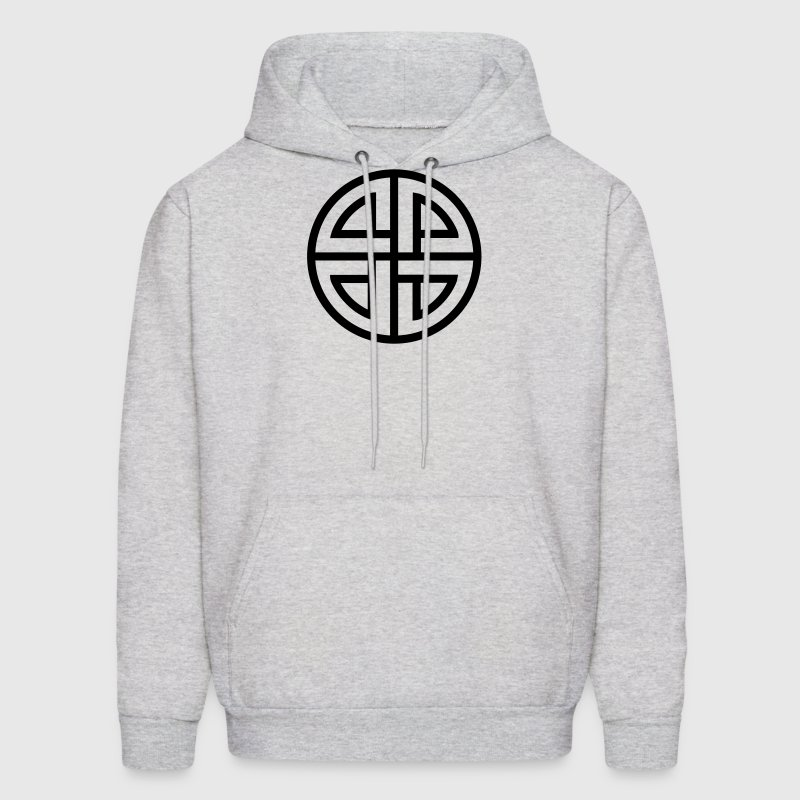 Celtic Shield Knot, Protection, Four Corner, Norse Hoodies - Men's Hoodie