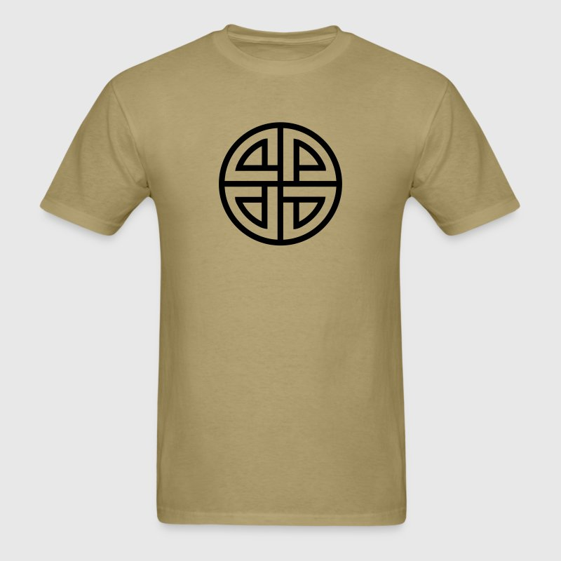 Celtic Shield Knot, Protection, Four Corner, Norse T-Shirts - Men's T-Shirt