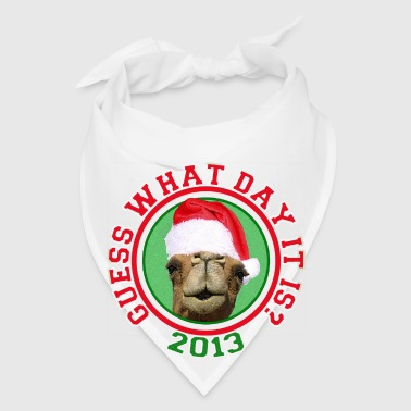 Christmas 2013 Hump Day Camel Travel Mug - Bandana