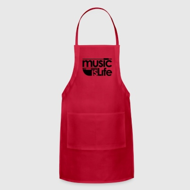 Music is Life Caps - Adjustable Apron