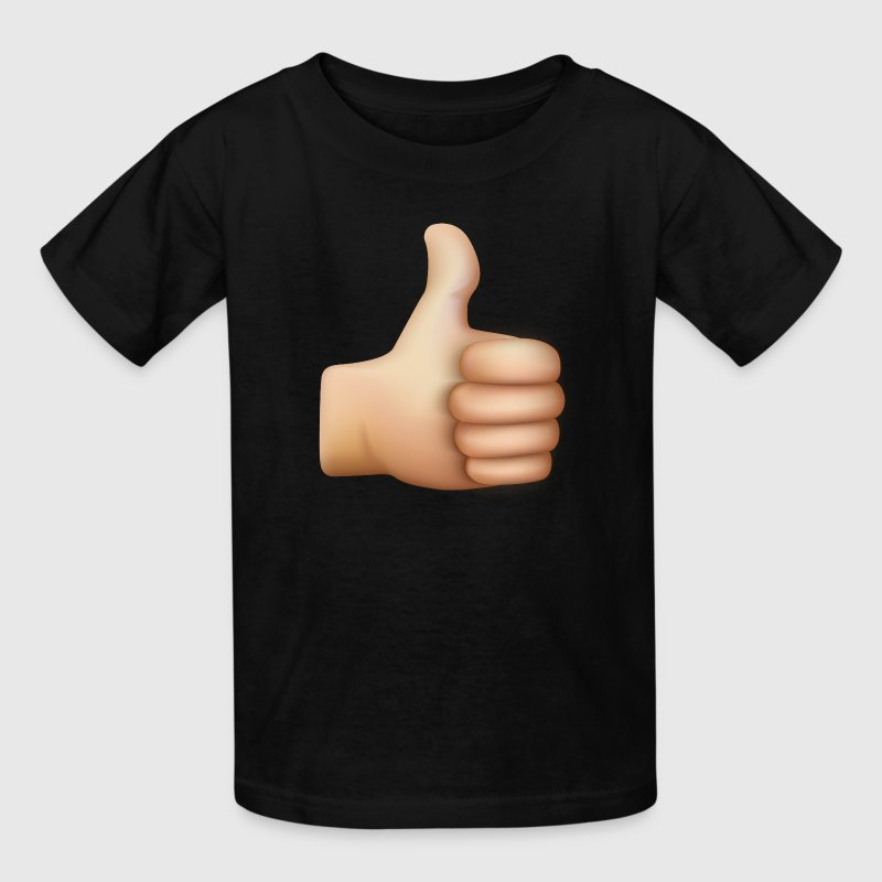 THUMBS UP EMOTICON Kids' Shirts - Kids' T-Shirt