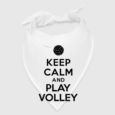 Keep calm and play Volley Bottles & Mugs - Bandana