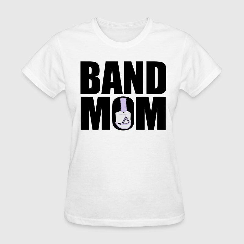 Marching band mom t shirt spreadshirt for Band t shirt designs for sale