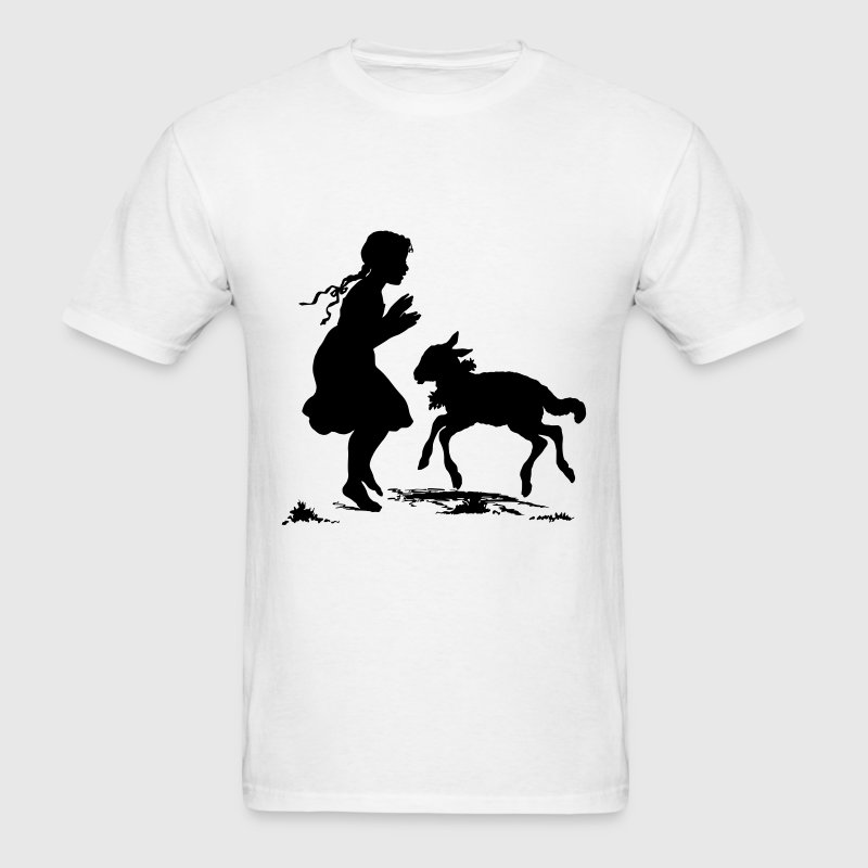 Mary Had A Little Lamb T-Shirts - Men's T-Shirt