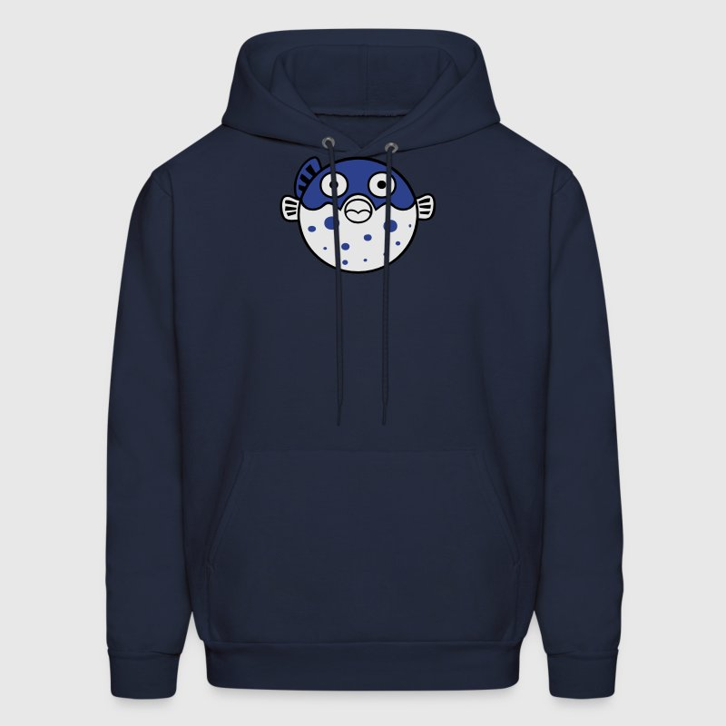Fugu Blowfish Hoodies - Men's Hoodie