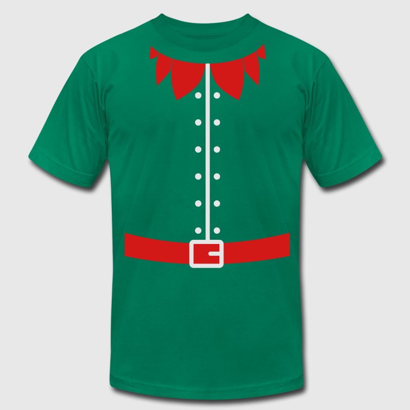 christmas elf costume T-Shirts - Men's T-Shirt by American Apparel