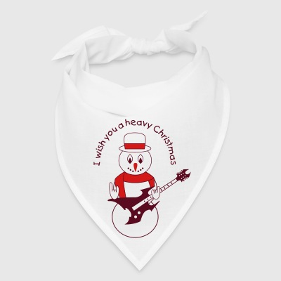 Metal snowman for white Bottles & Mugs - Bandana