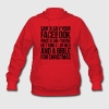 SANTA SAW YOUR FACEBOOK PHOTOS Hoodies - Women's Hoodie
