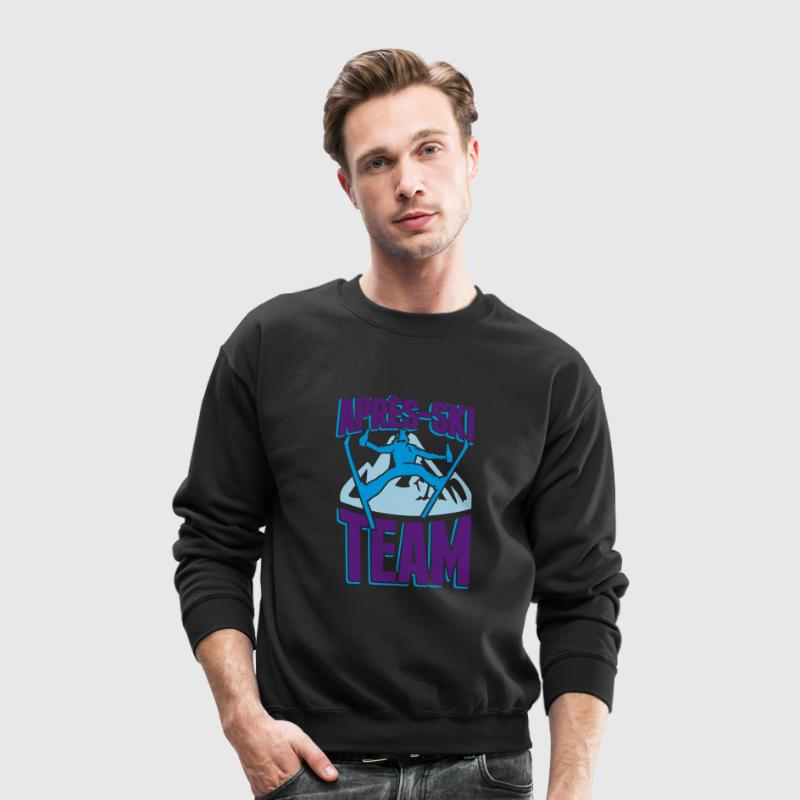 Apres-Ski Team Long Sleeve Shirts - Crewneck Sweatshirt