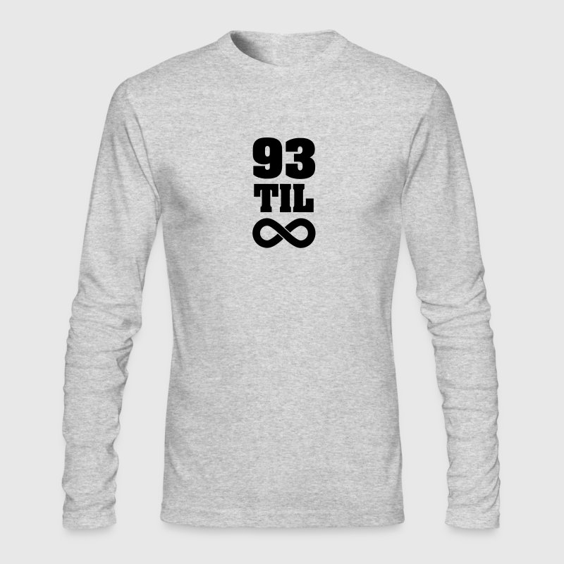 93 Til Infinity Long Sleeve Shirts - Men's Long Sleeve T-Shirt by Next Level