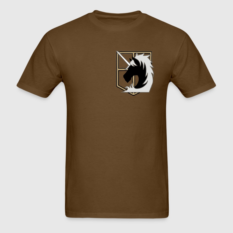 Attack on Titan Military Police T-Shirts - Men's T-Shirt