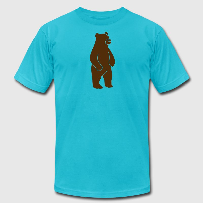 Wildlife: Grizzly bear T-Shirts - Men's Fine Jersey T-Shirt