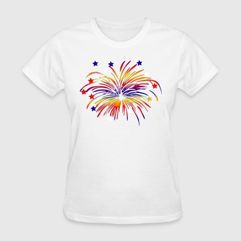 Fireworks - Women's T-Shirt