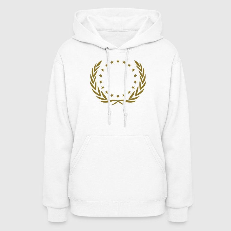 winner wreath star, team, birthday, best, champion Hoodies - Women's Hoodie