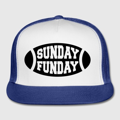 Sunday Funday Football Bottles & Mugs - Trucker Cap