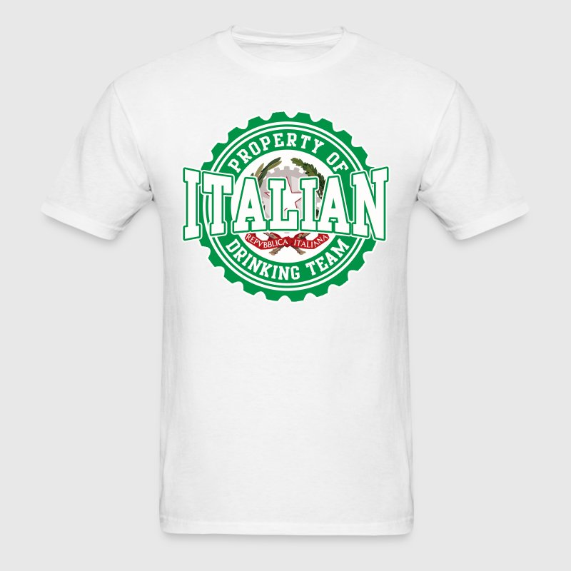Property of Italian Drinking Team T-Shirts - Men's T-Shirt