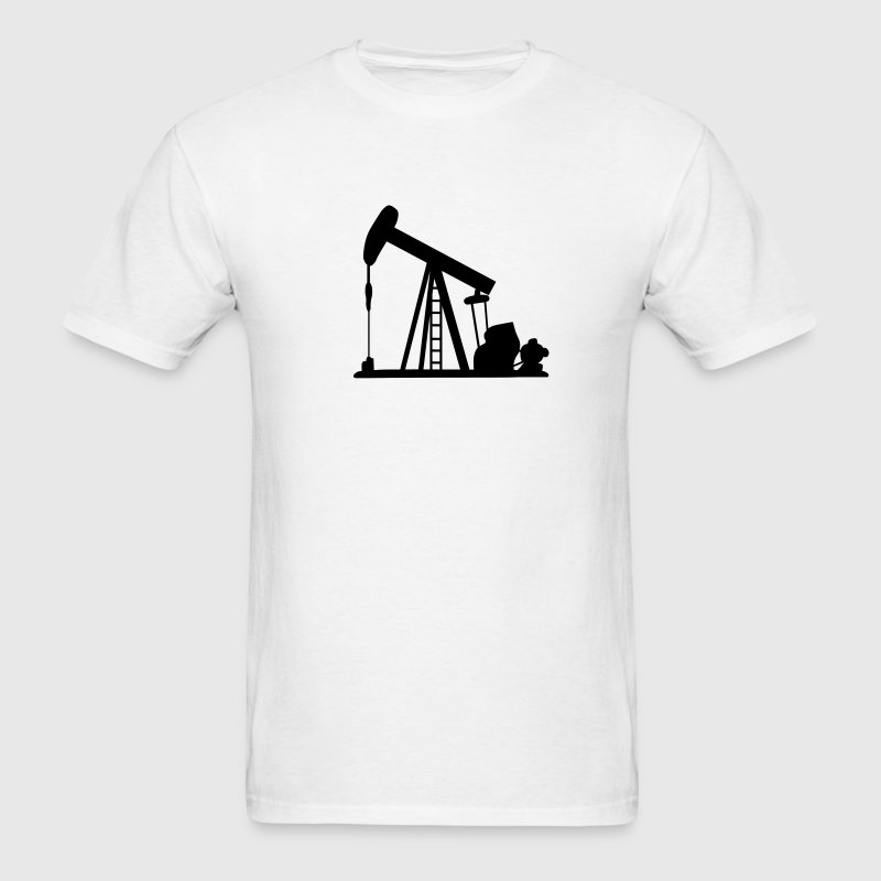 Oil Crane T-Shirts - Men's T-Shirt