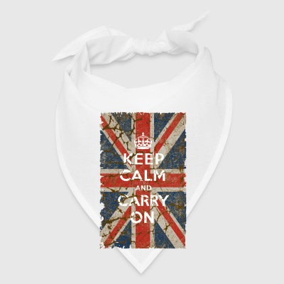 UK Flag and Keep Calm, Hybrid - Bandana