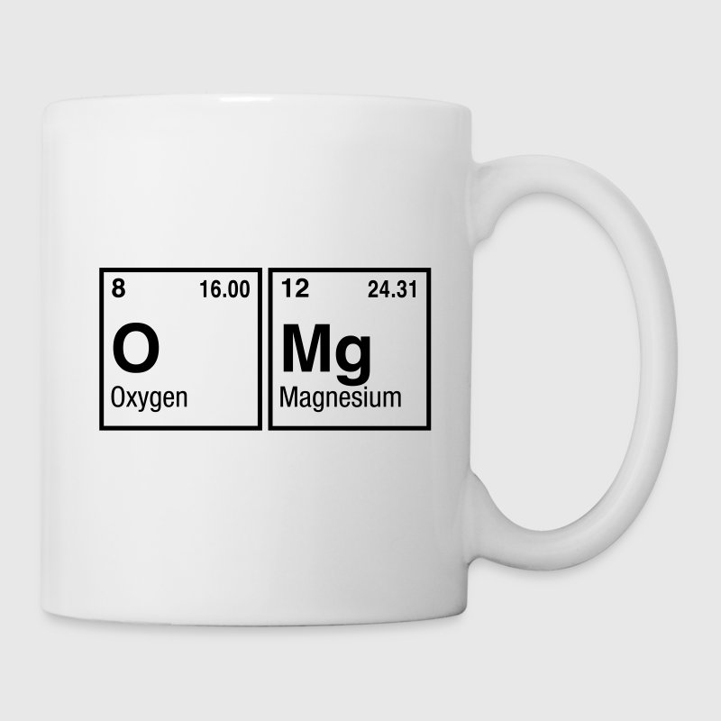 written with elements of the periodic table mug spreadshirt - Periodic Table Mug Australia