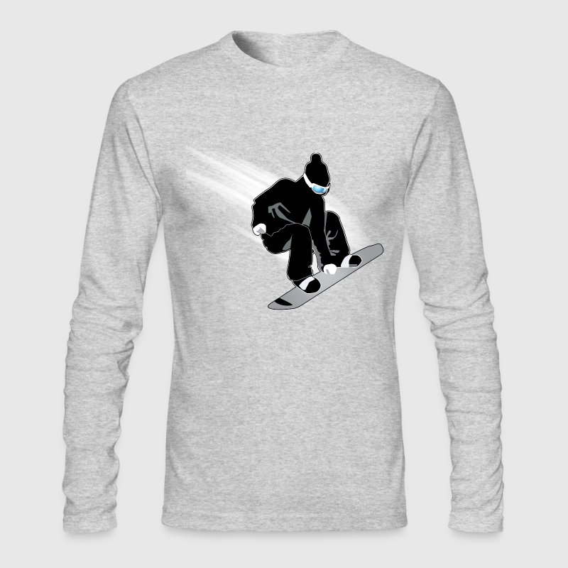 Snowboarding - Men's Long Sleeve T-Shirt by Next Level