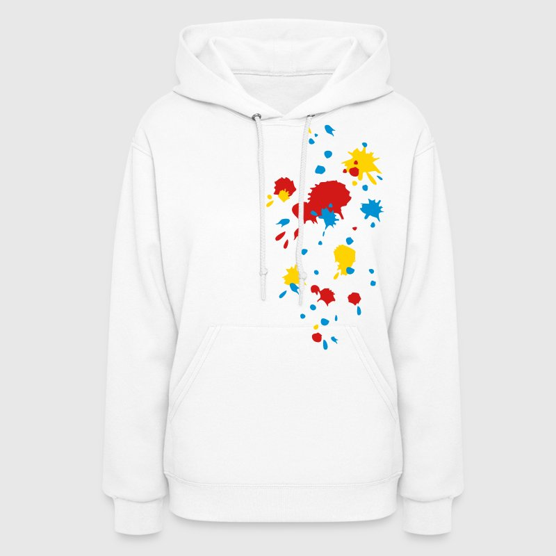 Color splash splatter paintball, game, graffiti,  Hoodies - Women's Hoodie