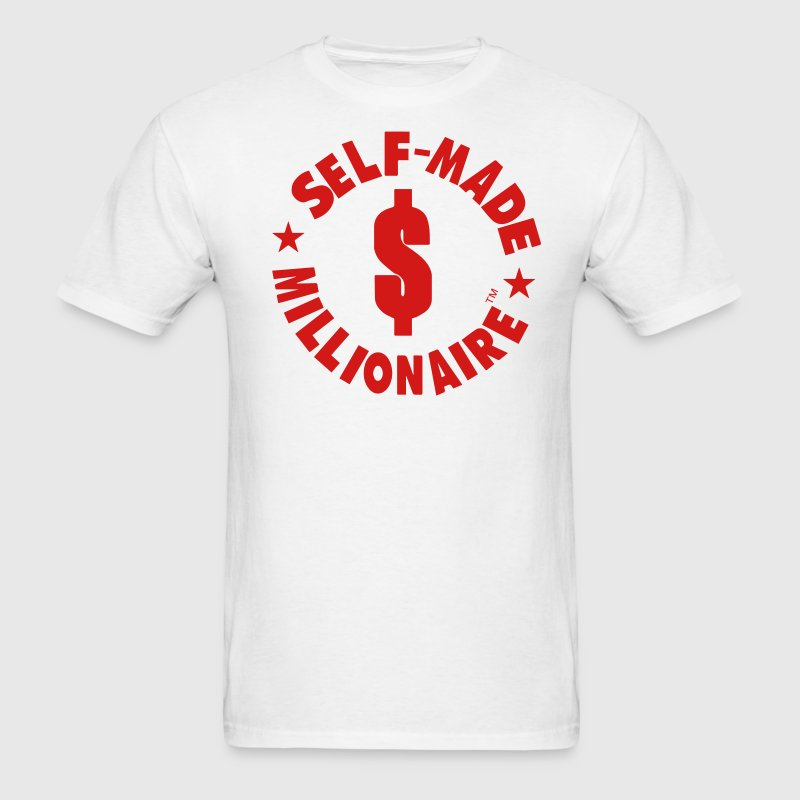 SELF MADE MILLIONAIRE T-Shirts - Men's T-Shirt