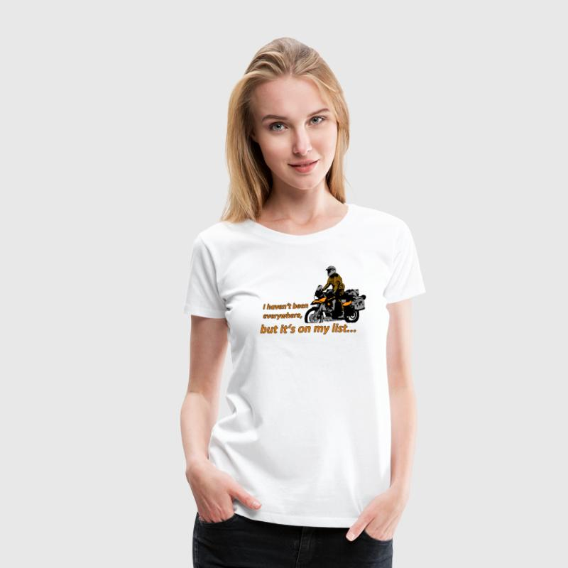 Dualsport - it's on my list 1 / Shirt LADIES - Women's Premium T-Shirt