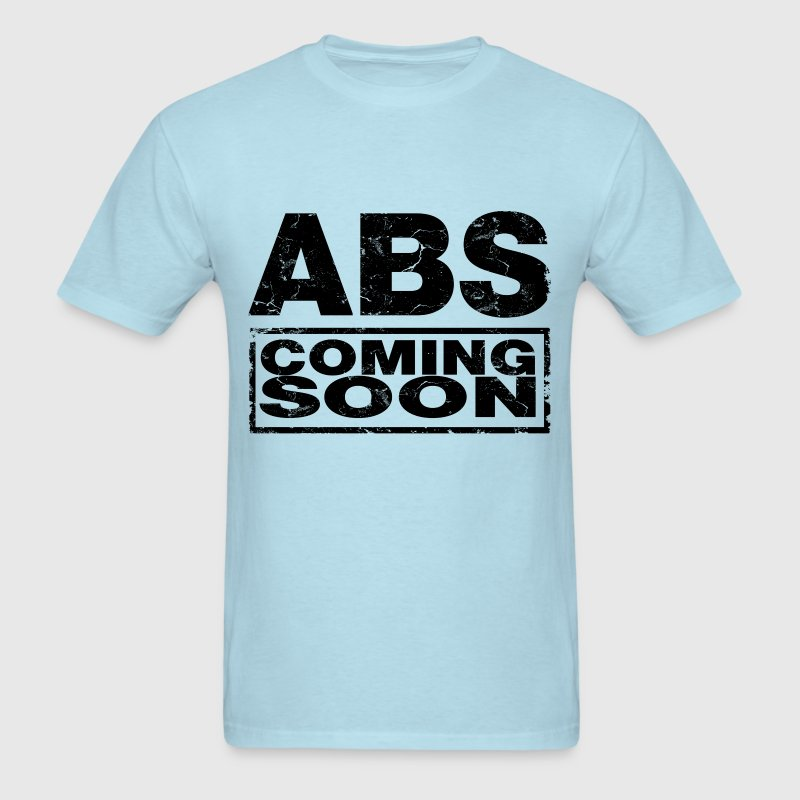 abs_coming_soon T-Shirts - Men's T-Shirt