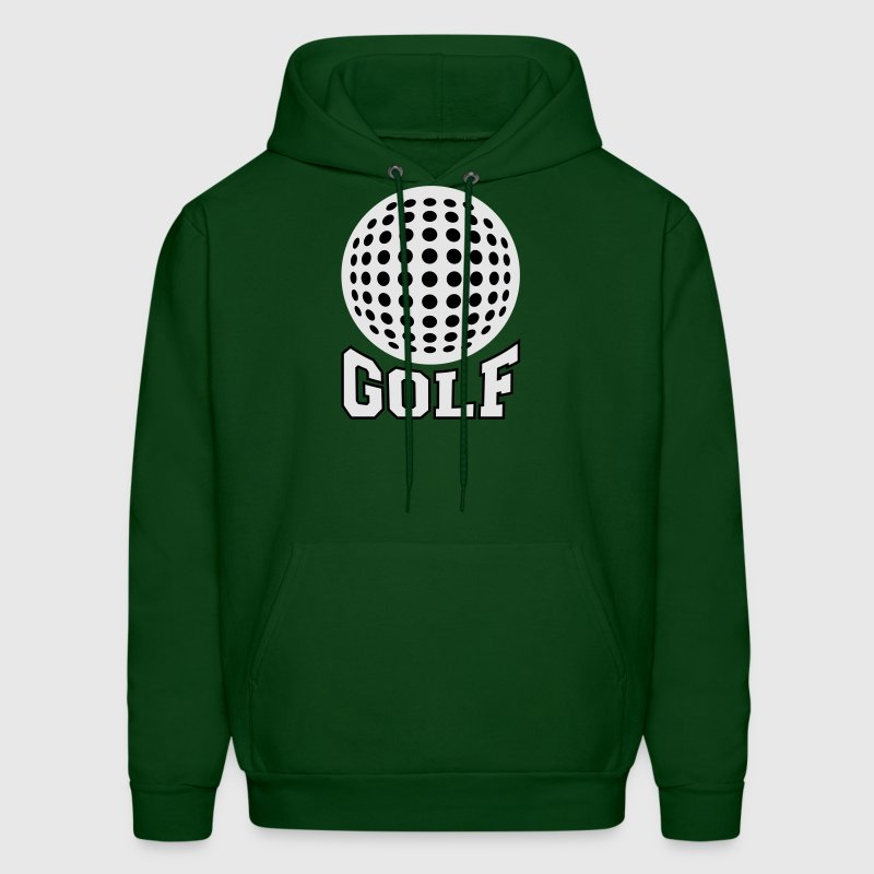 Golf bicolor Hoodies - Men's Hoodie