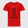 Keep Calm and start the Delorean Baby & Toddler Shirts - Toddler Premium T-Shirt
