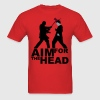 Zombie Kill Silhouette [Aim For The Head] T-Shirts - Men's T-Shirt