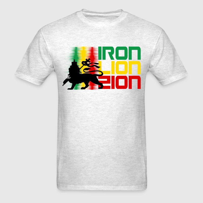 iron lion zion T-Shirts - Men's T-Shirt