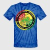 roots rock reggae positive vibration T-Shirts - Unisex Tie Dye T-Shirt