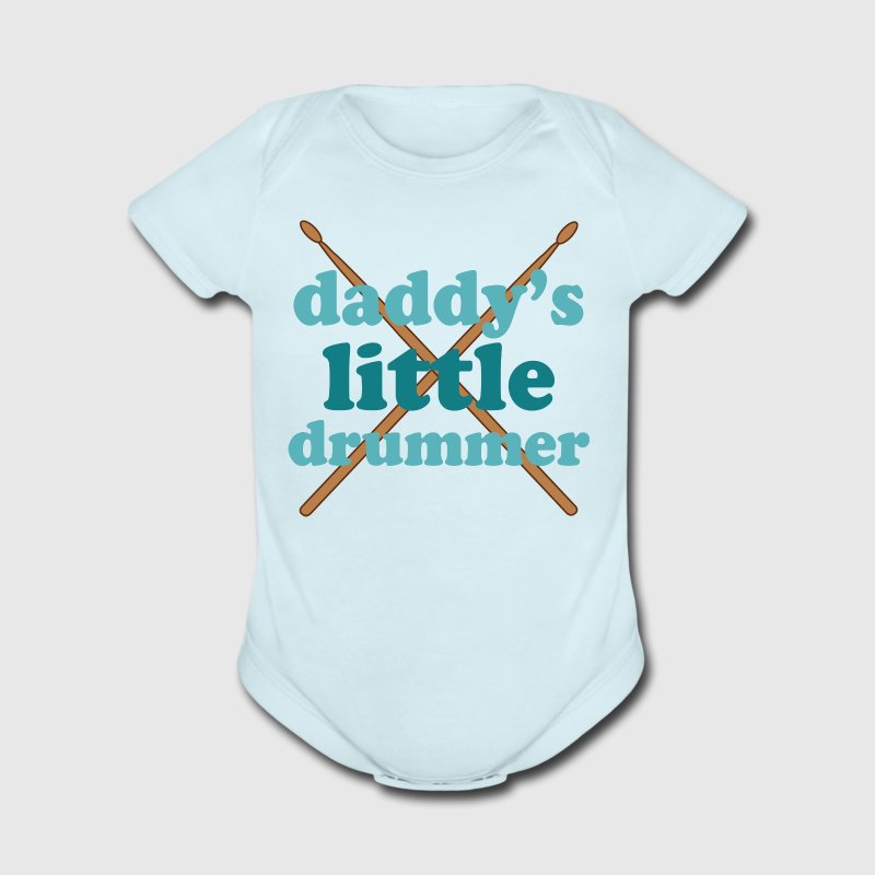 Daddy's Little Drummer Baby & Toddler Shirts - Short Sleeve Baby Bodysuit