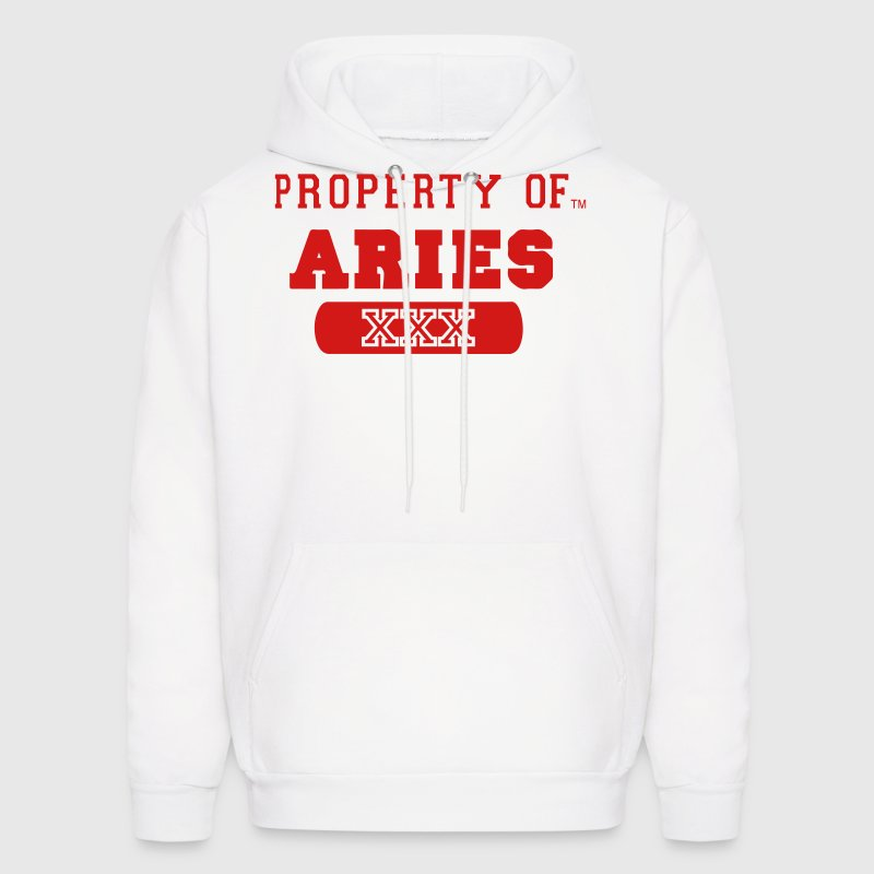 Property of aries hoodie spreadshirt for Property of shirt designs