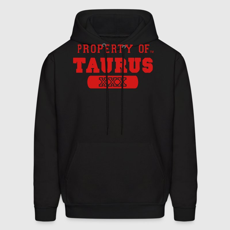 Property of taurus hoodie spreadshirt for Property of shirt designs