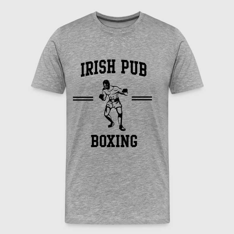 Irish Pub Boxing T-Shirts - Men's Premium T-Shirt