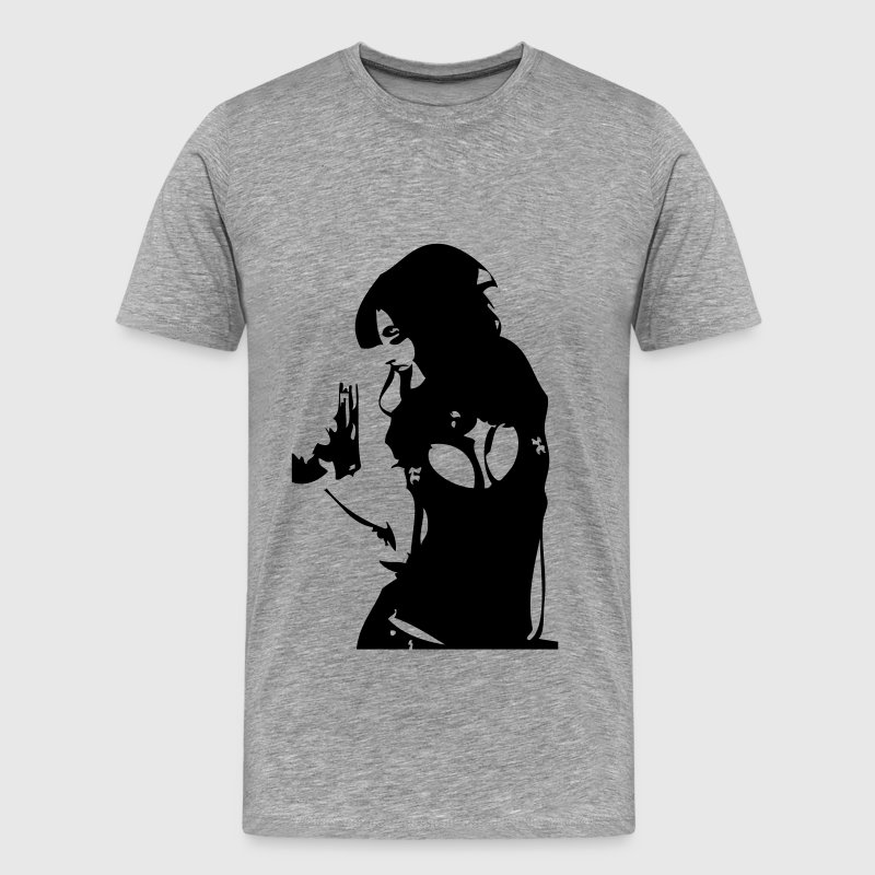Sexy girl gun - Men's Premium T-Shirt