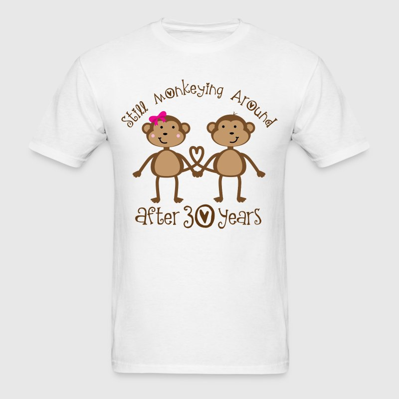 30th Anniversary Monkeying Around T-Shirts - Men's T-Shirt